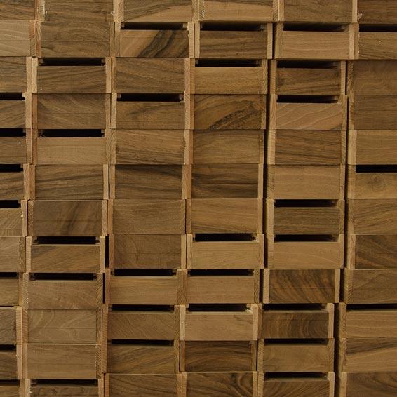 Le coffret en frêne - 20 teintes claires - Pastels Girault