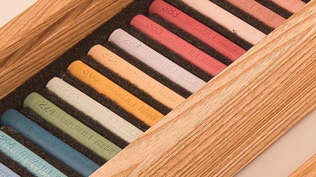 Coffret 20 teintes claires - 240 ans Pastels Girault